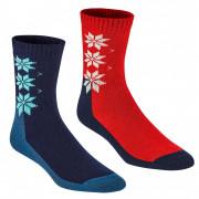 Női zokni Kari Traa Kt Wool Sock 2PK