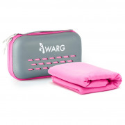 Törülköző Warg Soft 75x150 cm rózsaszín