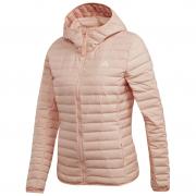Női kabát Adidas Varilite Soft Hooded rózsaszín
