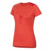 Női funkciós póló Husky Merino 100 - r. ujjú Sheep rózsaszín