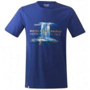 Férfi póló Bergans Foss Tee kék blue
