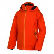 Gyerek kabát Husky Zengl Junior narancs