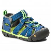 Gyerek szandál Keen Seacamp II CNX INF kék true blue/jasmine green