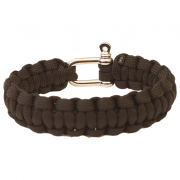 Karkötő Yate Paracord fekete