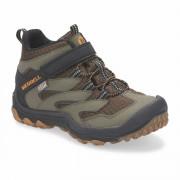 Gyerek cipő Merrell Chameleon 7 Mid A/C Waterproof barna