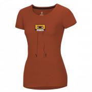 Női póló Ocún Classic T Women barna