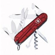 Zsebkés Victorinox Climber áttetsző piros trans red