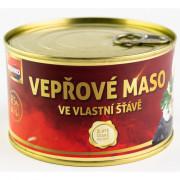 Sertéshús saját levében Veseko 400 g
