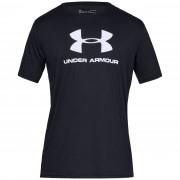 Férfi póló Under Armour Sportstyle Logo SS fekete