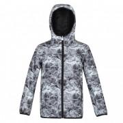 Gyerek kabát Regatta Volcanics V fehér/szürke