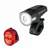 Kerékpátr lámpa szett Sigma Lightster USB + Nugget II.
