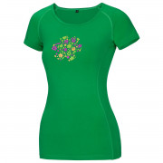 Női póló Ocun Bamboo Meadow zöld
