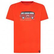 Pánské triko La Sportiva Van T-Shirt M piros