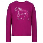Gyerek póló Regatta Wendell kůň rózsaszín