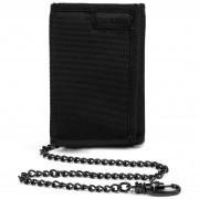 Pénztárca Pacsafe RFIDsafe Z50 Trifold Wallet fekete