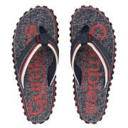 Flip-flop Gumbies Cairns piros/sötétszürke