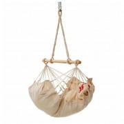 Függőágy szett Hamaka.eu Felfüggeszthető babaágy fehér