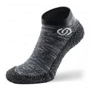 Zoknicipő Skinners Athleisure szürke/fehér Granite grey