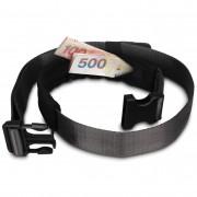 Értéktároló öv Pacsafe Cashsafe 25 Belt fekete