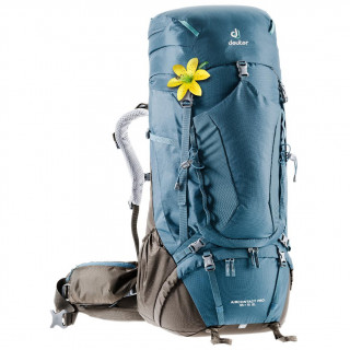 Női hátizsák Deuter Aircontact PRO 55+15 SL kék/szürke