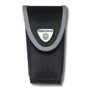 Bőrtok Victorinox 91 mm nejlon fekete