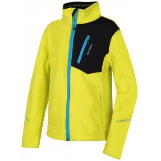 Fleece pulóver Husky Zinep Junior világoszöld sv. zelená