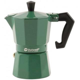 Kávéfőző Outwell Manley M Espresso Maker zöld