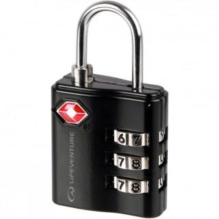 Számzáras lakat Lifeventure TSA Combi Lock fekete Black